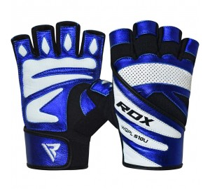 RDX S10 Concept Blue Weightlifting Gloves
