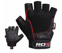 RDX S4 Armada Black Weightlifting Gym Gloves