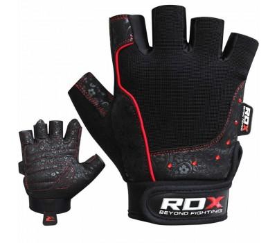 RDX S4 Armada Black Weightlifting Gym Gloves
