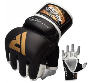 RDX T2 Quest Leather MMA Gloves