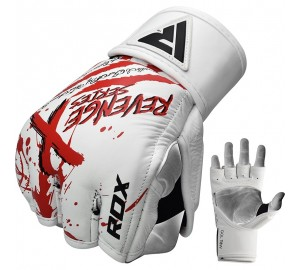 RDX T8 Revenge-X MMA Grappling Gloves