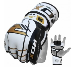 RDX F3 Gel Leather MMA Gloves