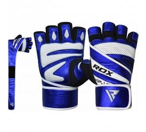 RDX L10 Blue Gym Gloves