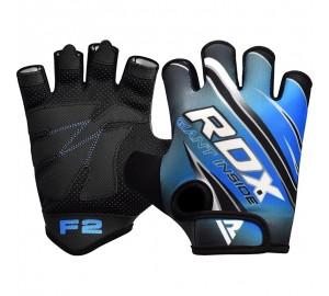 RDX F2 Blue Gym Workout Gloves
