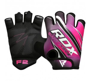 RDX F2 Women Pink Gym Workout Gloves