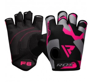 RDX F6 Pink Ladies Fitness Gloves