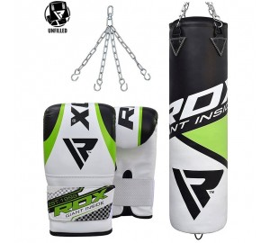 RDX Training Leather Un-Filled Punch Bag