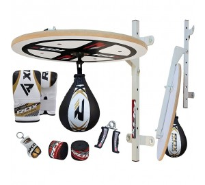 RDX Pro Boxing Club 10PC Punching Speed Ball Platform Set