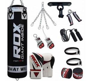 RDX Pro 13pc Boxing Set Heavy Punch Bag