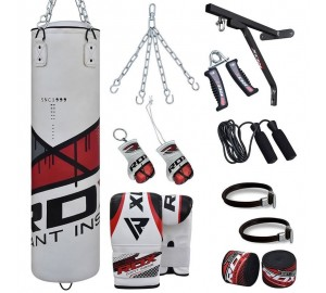 RDX 17pc Zero Impact Heavy Duty G-Core Punching Bag