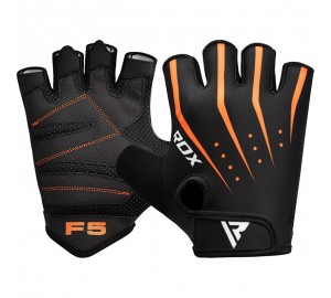RDX F5 Weight Lifting Gym Gloves