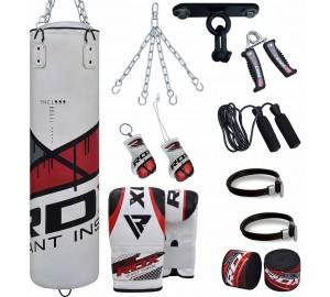 RDX 13pc G-Core Zero Impact Boxing Set Heavy Punching Bag