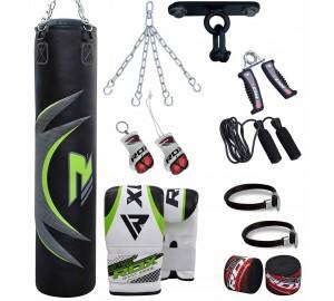 RDX 13pc Zero Impact G-Core Boxing Set Heavy Punch Bag