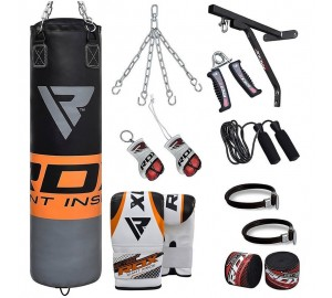 RDX Pro Training Filled Punching Bag Set