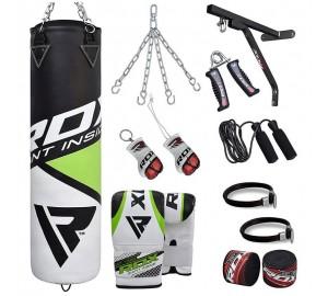 RDX Training Filled Punching Bag Set