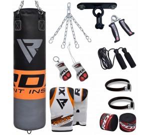 RDX 13pc Filled Punching Bag Set