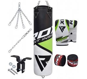 RDX 8pc Training Filled Punching Bag Set