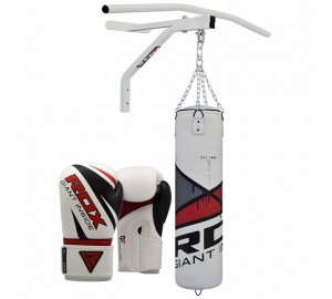 RDX Boxing 5FT Filled Punch Bag With Pull Up Bar