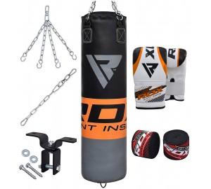 RDX Punching Bag Filled Training 8pc Set