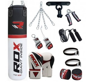 RDX  Heavy Punch Bag 13pc With Ceiling Hook