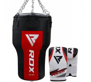 RDX Punching Angle Bag & Bag Gloves