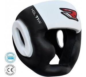 RDX Zero Impact Leather Head Guard