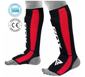 RDX Gel Neoprene Shin Instep Guard