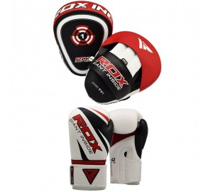 RDX Jab Bag Gloves Focus Mitts Hook