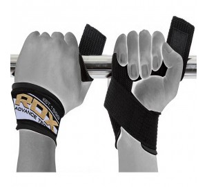 RDX Leather Wrist Support Weight Lifting Straps