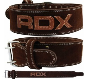RDX Brown Leather 10mm Powerlifting Belt
