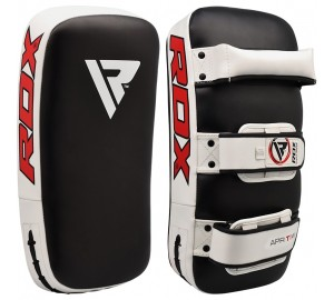RDX Leather-X Strike Curved Muay Thai Pad
