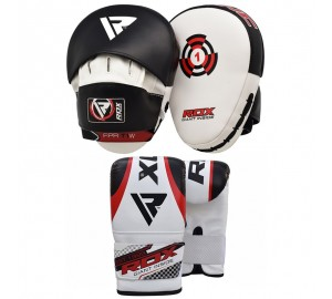 RDX Focus Pads Hook & Jab & Bag Gloves