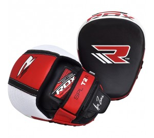 RDX MMA Boxing Cowhide Leather Smartie Focus Mitts