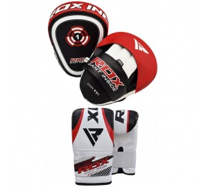 RDX Focus Mitts Hook & Jab Bag Gloves