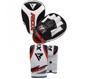 RDX  Hook & Jab Focus Pads Punch Mitts