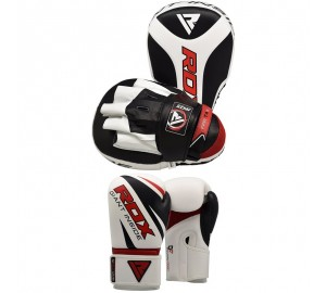 RDX Hook & Jab Punch Mitts Focus Pads