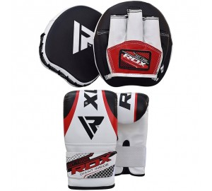 RDX Smartie Hook & Jab Pads & Bag Gloves
