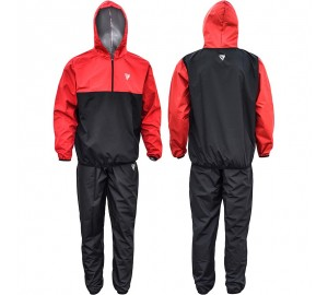 Hooded Sauna Sweat Suit by RDX