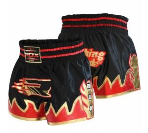 RDX Ultra Crimson Satin Muay Thai Shorts