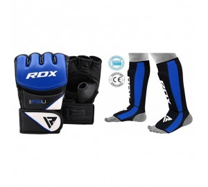 RDX Grappling Gloves with Shin Instep