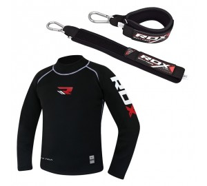 RDX Compression Rash Guard With Padded Strap
