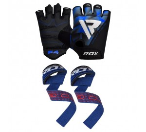 RDX Gym Gloves & Weight Lifting Straps