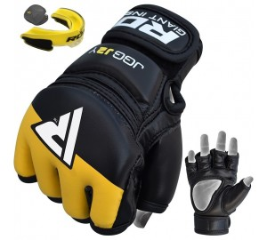 RDX Kids MMA Gloves with Mouth Guard