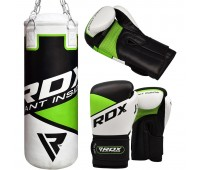 2ft Punch Bag & Boxing Gloves for Kids