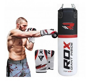 RDX Heavy Duty Punch Bag And Boxing Gloves