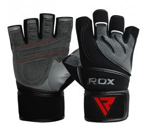 RDX L4 Deepoq Leather Gym Gloves