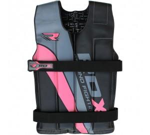 RDX R1 Ladies Adjustable Pink Weighted Vest