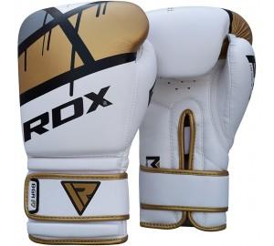 Golden 8oz Ego Boxing Gloves