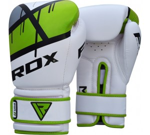 Green 14oz Ego Boxing Gloves