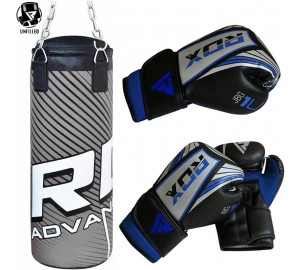 RDX UN-Filled 2ft Kids Punching Bag With Boxing Gloves